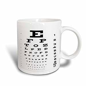 mug_17146_3 Florene Humor - Eye Chart - Mugs - 11oz Magic Transforming Mug