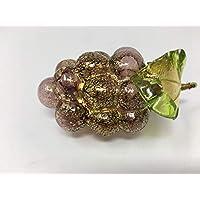 Murano 手工吹制玻璃葡萄(紫)