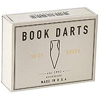 BOOKDARTS 金属书签30枚黄铜盒装