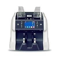 Ribao BC-55 混合币钞票计数器 UV/MG/MT/IR 2 CIS 图像传感器 伪造检测 钱计数器和分拣器 带货币序列号识别 两年保修