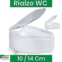 Cura Farma 26101 马桶增高器 带盖子 适合*老人使用 10 厘米
