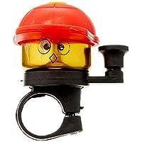 预言中性青少年儿童自行车铃 金色带彩色帽子,颜色:红色自行车铃,均码