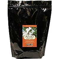 Numi Organic Tea 茉莉绿茶,散叶 16 盎司(约 453.6 克)散装袋(包装可能会变化),散装绿茶,有真正的茉莉花,用于茶壶或过滤器