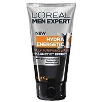 L'Oreal 男式 Expert hydra ENERGETIC 木炭洗面奶150?ml