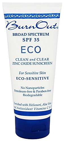 BurnOut - Eco-Sensitive遮光剂 35 SPF - 3盎司美国直邮【亚马逊海外卖家】