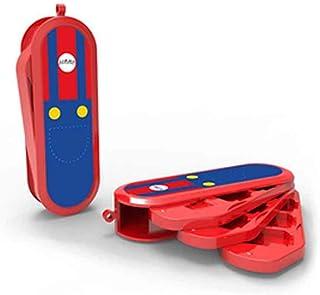 Regisbox Nintendo 任天堂 Switch 游戏盒 8 个插槽便携式游戏存储盒 紧凑游戏卡套 Mario