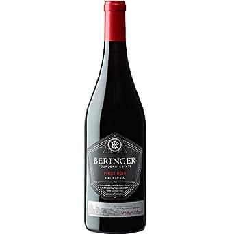 【亚马逊直采】Beringer 贝灵哲 创始者庄园系列黑比诺 红葡萄酒750ml (亚马逊进口直采红酒,美国品牌)