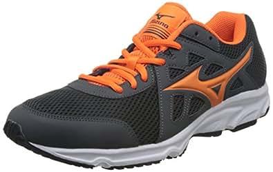 Mizuno 美津浓 男 跑步鞋MIZUNO SPARK 2  K1GA170354-250 深灰/荧光橙/黑 39