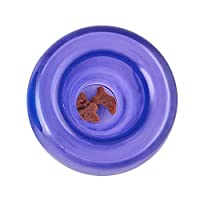 Planet Dog Orbee-Tuff Snoop - 坚韧耐用的互动狗球*分配器游戏 - 脑刺激拼图和*架玩具 Purple 4-inch 4-Inch
