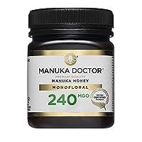 Manuka Doctor 240 MGO Manuka Honey, 250 g