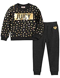 Juicy Couture 橘滋 女童毛衣裤2件套