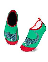 幼童水鞋轻便防滑水袜海滩步行男孩女孩幼童