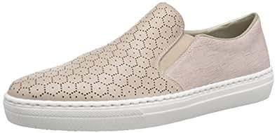 德国百年老牌Rieker女士一脚蹬板鞋 38(亚马逊自营 保税区发货)
