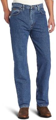Wrangler 男式 Genuine Relaxed-Fit 牛仔裤  Niagara Falls 38W x 30L