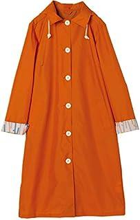 w.p.c 女士雨衣 带收纳袋 橘色 R-1106 OR