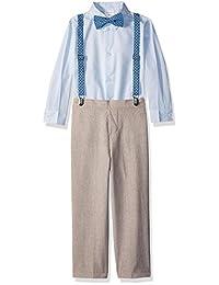 Van Heusen 男孩背带套装 4 件套