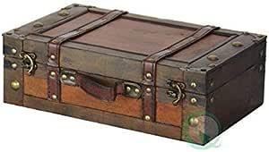 旧风格 suitcase 带肩带