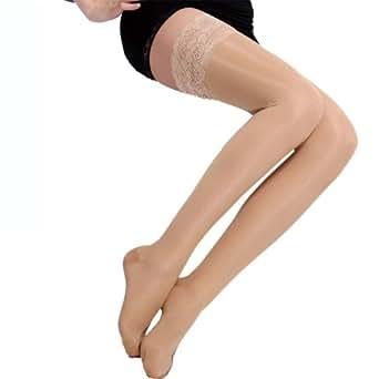 BISOU BISOU 200D 静脉曲张瘦腿袜 美腿袜 低压保健袜 薄款 【BB053】 (M, 肤色)