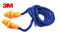 3M 1270 Corded Reusable Ear Plugs - Pack of 5