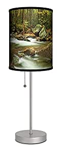 灯-In-A-Box SPS-FAR-ACSMO 特色艺术家 Andy 烹饪大*山银色运动灯,50.80 cm x 17.78 cm x 17.78 cm