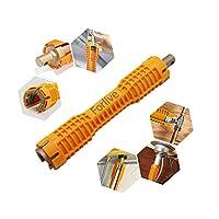 水龙头和水槽安装工具 Double Head/Yellow