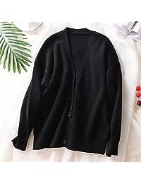 唐岚 羊毛衫开衫宽松大码显瘦针织开衫