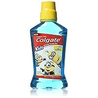 Colgate 高露洁 Kids Minions Bello Bubble Fruit Anticavity Fluoride Rinse, 16.9 Ounce