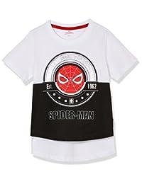 Disney 迪士尼童装 男童 针织短袖T恤 KSP8M1KTKB2720WW