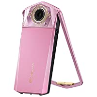 CASIO 卡西欧 EX-TR750 美颜自拍 数码相机 (3.5英寸大屏、双LED灯、天使之眼)璎珞粉
