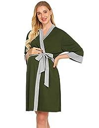 Ekouaer 男式棉质睡衣长袖睡衣梭织睡衣套装 M-3XL