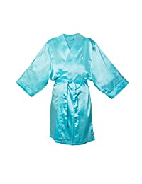 Cathy's Concepts Personalized Satin Robe 浅绿色 L/XL