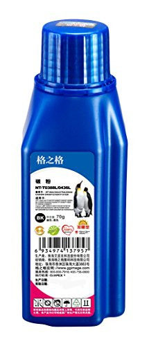 G&G 格之格 NT-T0388L 炫蓝超黑填充碳粉同时 适用388/436系列硒鼓净含量70gHP Laserjet P1007/1008/1505/M1120/M1522n   (新老包装更替中)