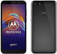 moto e6 Play 雙 SIM 智能手機(5.5 英寸*大視野高清+顯示屏,13 萬像素雙攝像頭,32 GB / 2 GB,Android 9)無煙煤色
