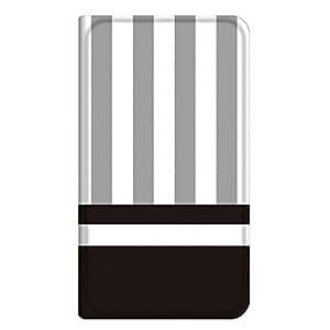 智能手机壳 手册式 对应全部机型 薄型印刷手册 cw-291top 套 手册 条纹 超薄 轻量 UV印刷 壳WN-PR234155-ML LG G3 Beat LG-D722J 图案C