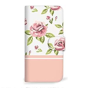 mitas 智能手机壳 手册式 玫瑰 粉彩SC-2336-PK/SO-03H 2_Xperia Z5 Premium (SO-03H) 粉色