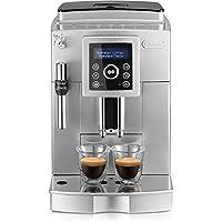 De'Longhi 德龙咖啡机ECAM 23.420.SB.全自动咖啡机 银黑(数字显示屏 可视化操作/13档咖啡豆研磨器 专业制作奶泡的出水嘴/可拆卸萃取机芯/可同时操作双杯萃取)