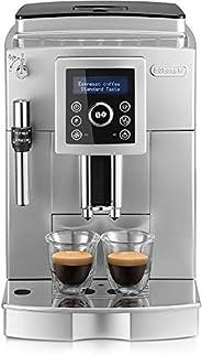 De'Longhi 德龙 ECAM 23.420.SB 全自动咖啡机 带有起泡奶嘴,可制备布奇诺咖啡,意式浓缩(Espresso),直接按钮/纯文本数字显示,2杯功能,1.8升水箱,银
