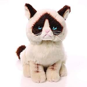 "Gund Grumpy Cat""暴躁猫""毛绒动物玩具"