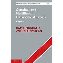 Classical and Multilinear Harmonic Analysis: Volume 2 (Cambridge Studies in Advanced Mathematics Book 138) (English Edition)