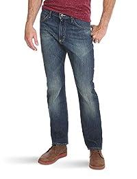 WRANGLER 男式 authentics 高级运动修身牛仔裤