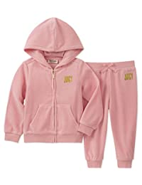 JUICY Couture 女婴2件 jog set-velour