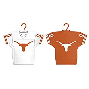 Boelter 品牌 NCAA Texas Longhorns Home & Away 球衣装饰品,2 件装