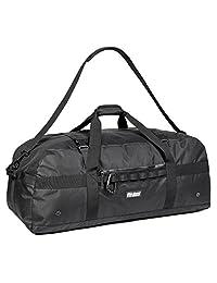 加厚超大运动健身设备旅行行李袋 W/可调节肩带和压缩带。 非常适合团队教练,足球、棒球、篮球、曲棍球的*佳选择。 Football & More