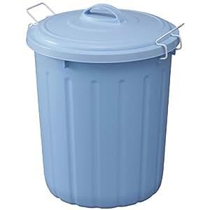 爱丽思欧雅玛 ソフトペール 垃圾桶45l  蓝色