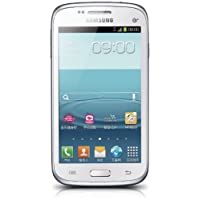 SAMSUNG 三星 I8268 3G手机(时尚白) TD-SCDMA/GSM、4.3英寸屏幕、1.2G双核处理器、S Beam智能传输