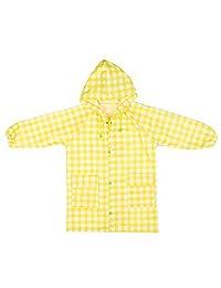 Candy-Baby 儿童男孩女孩防水连帽雨衣/雨衣外套儿童 5T-10T