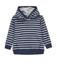 Bellybutton mother nature & me 婴儿男孩运动衫 蓝色 86 (Herstellergröße: 86)