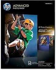 HEWLETT PACKARD HP 高级光面相纸 50 张