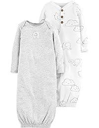 Carter's Baby 2 件装。 Babysoft 男女通用睡袍