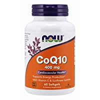 NOW Foods - Co酵素Q10 400 镁。60软胶囊